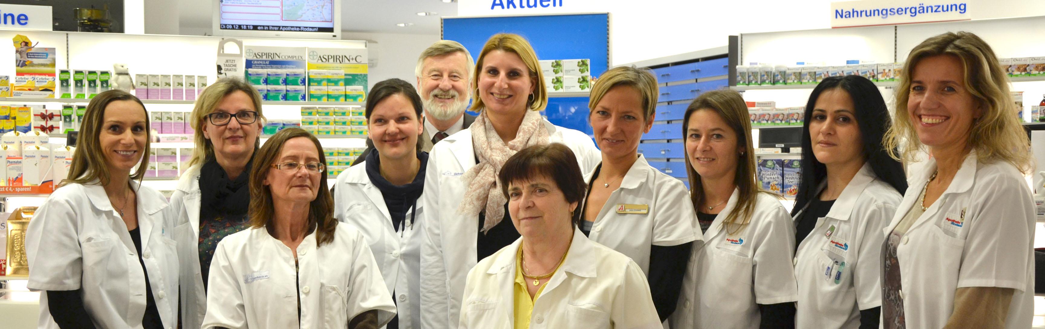 Das Apotheke-Rodaun Team